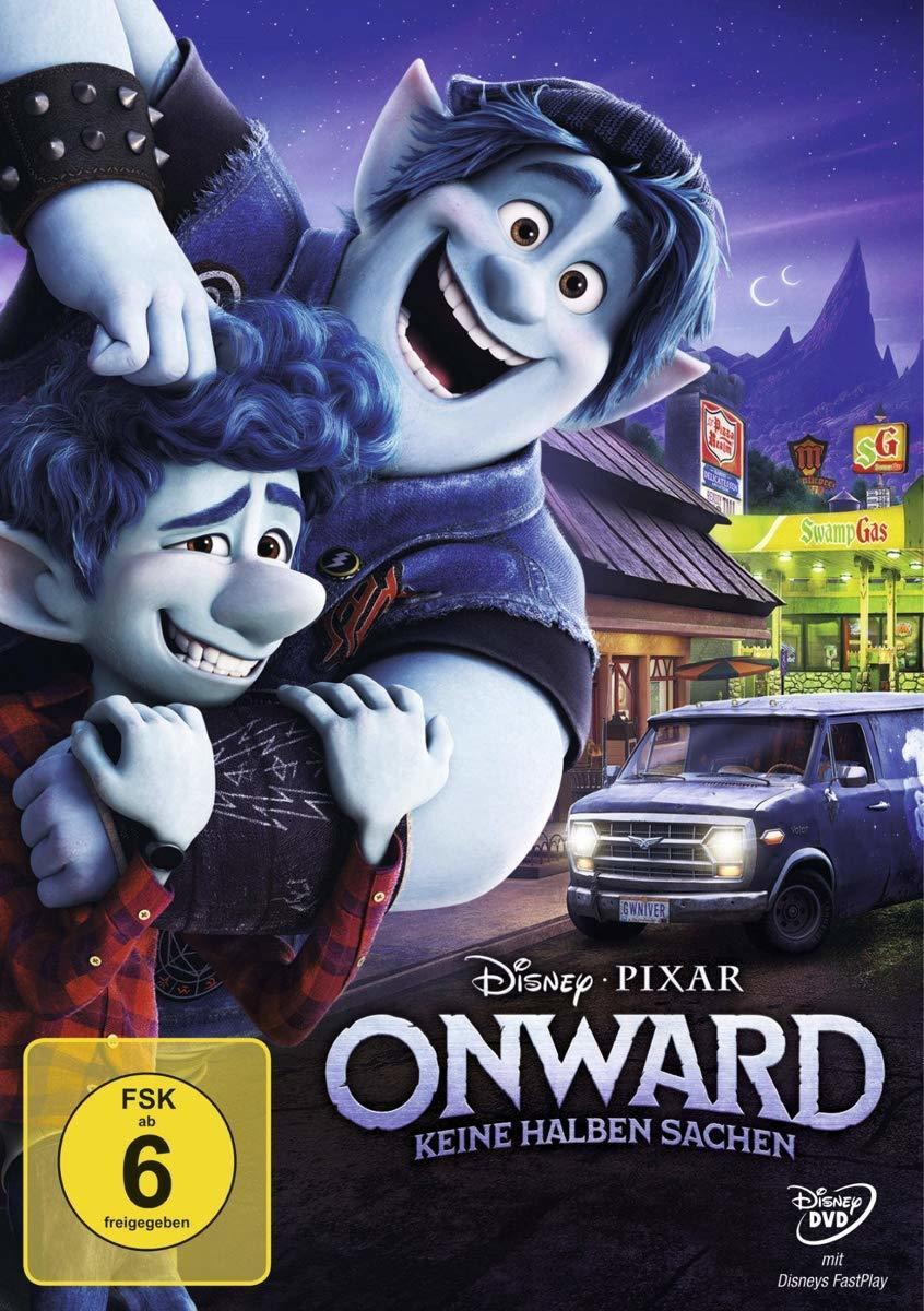 """Wir verlosen Disneys Pixars """"Onward: Keine halben Sachen"""" auf DVD und BD und Fan-Pakete gibt's noch obendrauf"""