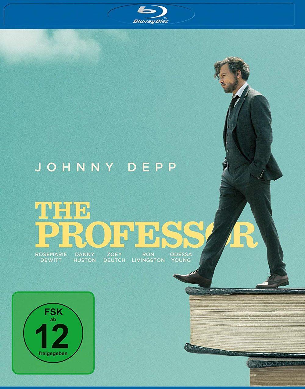 """Nur noch sechs Monate zu leben: Wir verlosen das humorvolle Drama """"The Professor"""" mit Johnny Depp auf BD"""