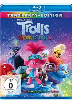 "Praller Power Pop: Wir verlosen ""Trolls World Tour"" auf BD"