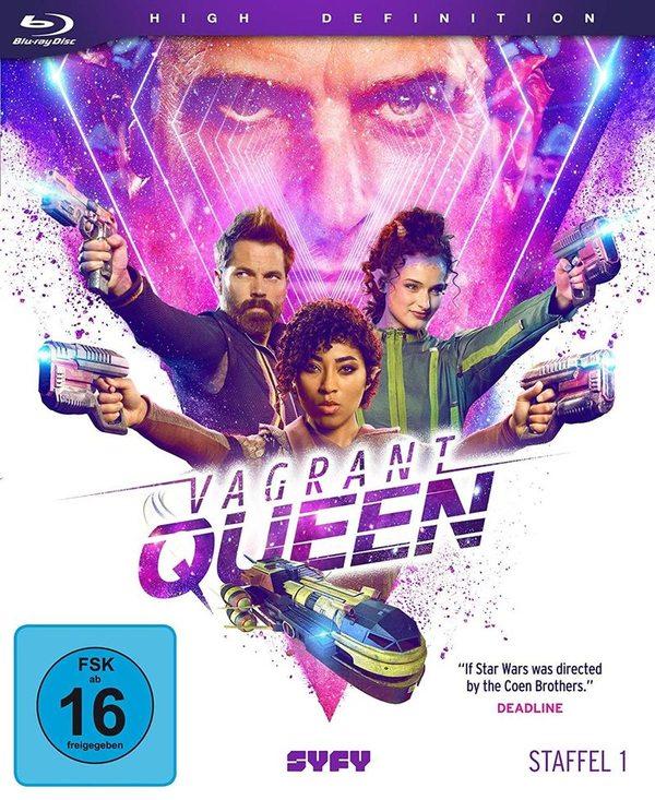 """Verrückt im Weltall: Wir verlosen Staffel 1 der Sci-Fi-Serie """"Vagrant Queen"""" auf BD"""