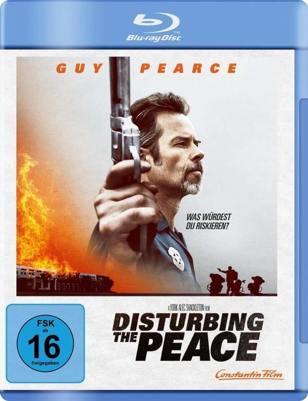 """Wir verlosen den Thriller """"Disturbing the Peace"""" mit Guy Pearce auf BD"""