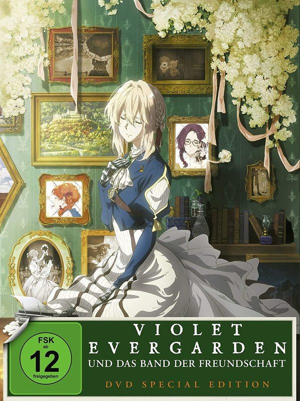 """Anime-Fans aufgepasst: Wir verlosen """"Violet Evergarden und das Band der Freundschaft"""" auf DVD und BD"""