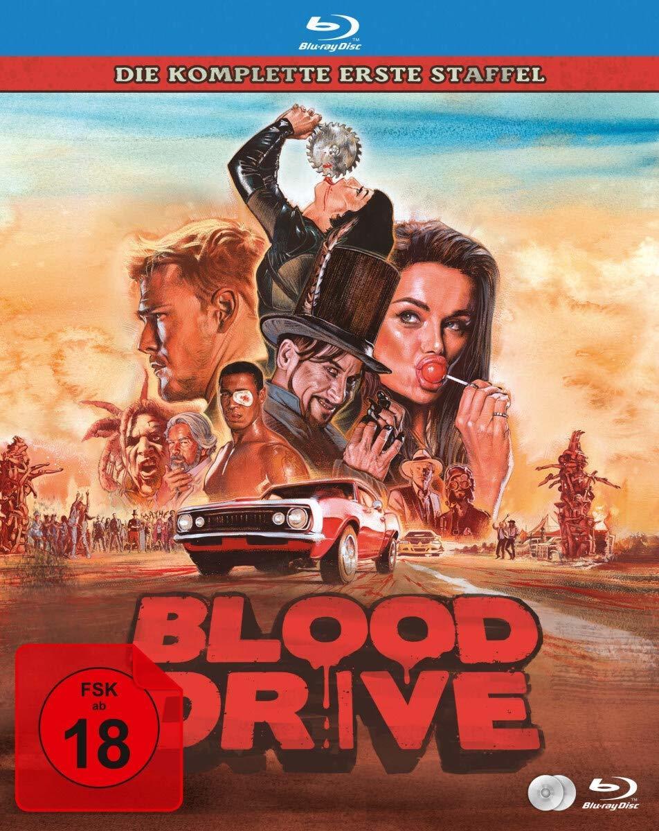 """Viel Sauerei, aber gut für die Umwelt: Wir verlosen Staffel 1 von """"Blood Drive"""" auf BD"""