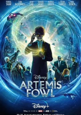 """Zum Start von """"Artemis Fowl"""" auf Disney + verlosen wir den Roman und ein Notizbuch"""
