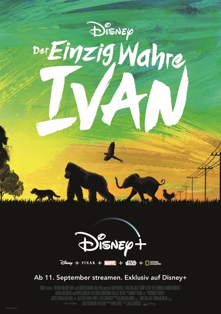 """Zum exklusiven Start von """"Der Einzig wahre Ivan"""" auf Disney + verlosen wir das Buch zum Film"""