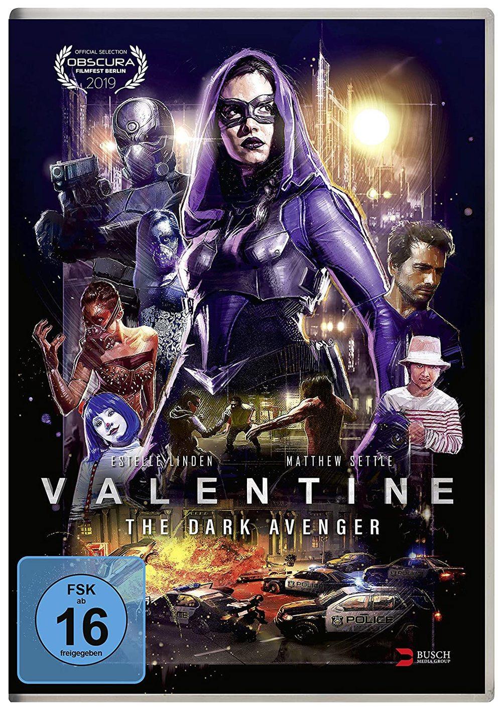 """Eine Superheldin abseits von DC und Marvel: Wir verlosen """"Valentine - The Dark Avenger"""" auf DVD und BD"""