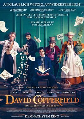 """Wir verlosen Freikarten und Poster zu """"David Copperfield - Einmal Reichtum und zurück"""" mit Dev Patel"""