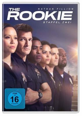 """Wir verlosen die komplette zweite Staffel von """"The Rookie"""" mit Nathan Fillion auf DVD"""