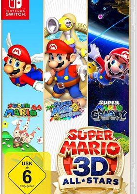 """Wir verlosen die Spielesammlung """"Super Mario 3D All-Stars"""" für Nintendo Switch!"""