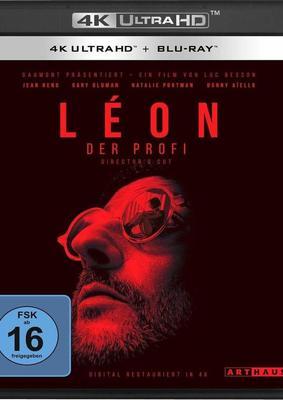 """Meisterwerk im neuen Glanz: Wir verlosen """"Léon - Der Profi"""" als 4K Utra HD (inkl. normaler BD)"""