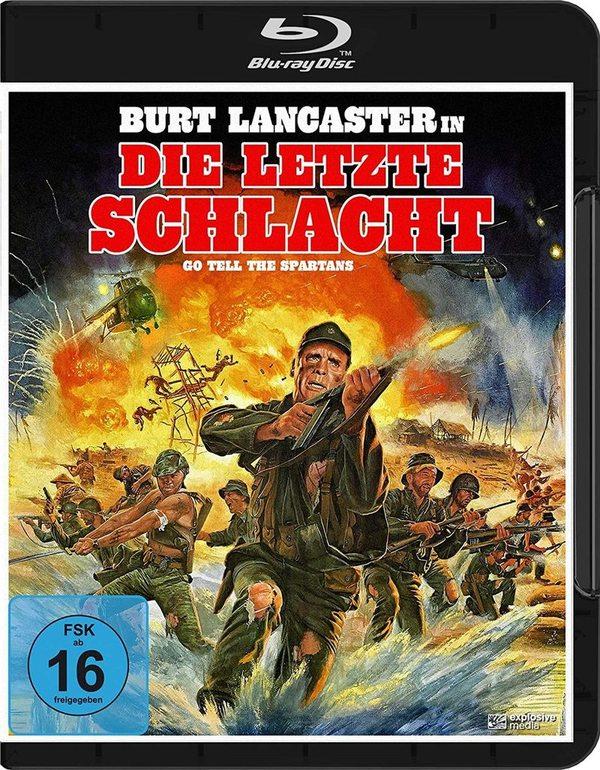 """Burt Lancaster im Kriegsmodus: Wir verlosen """"Die letzte Schlacht (Go Tell The Spartans)"""" auf BD"""