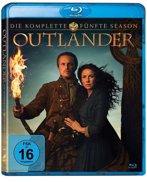 """Wir verlosen die komplette Staffel 5 der Erfolgsserie """"Outlander"""" auf BD"""