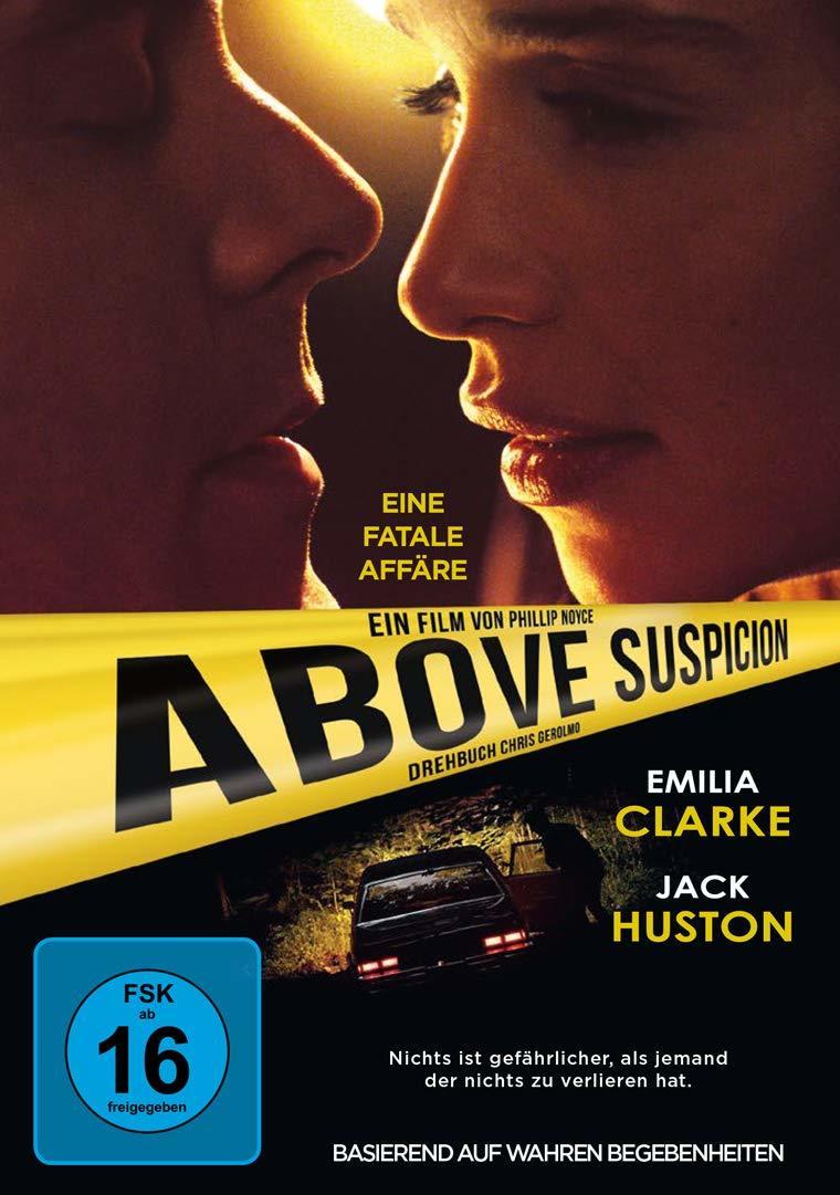 """Wir verlosen den Thriller """"Above Suspicion"""" mit Emilia Clarke auf DVD und BD"""