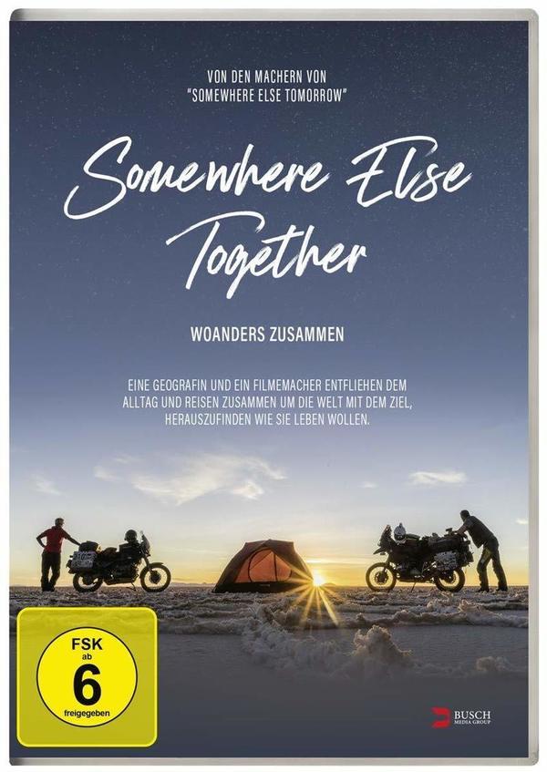 """Mit dem Motorrad durch die Welt: Wir verlosen """"Somewhere Else Together - Woanders zusammen"""" auf DVD und BD"""