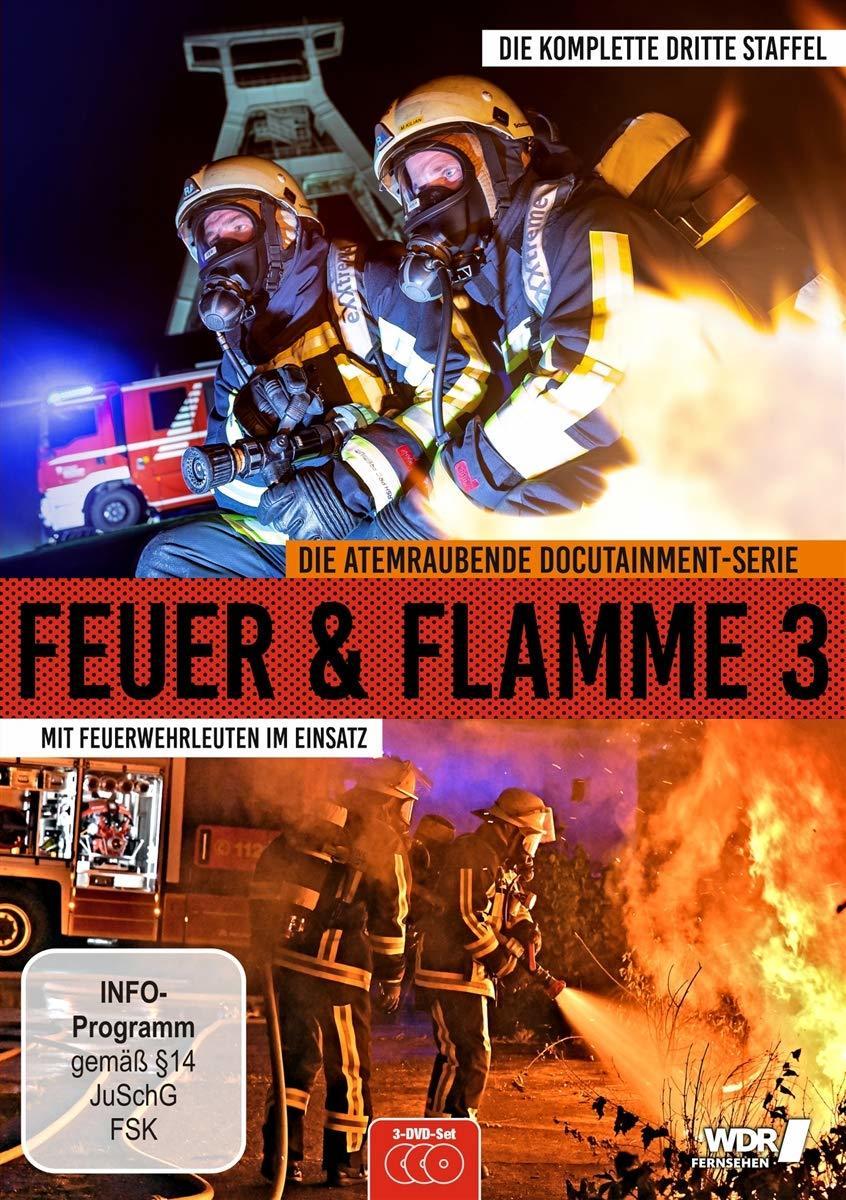 """Es wird heiß: Wir verlosen die dritte Staffel """"Feuer & Flamme: Mit Feuerwehrmännern im Einsatz"""" auf DVD und BD"""
