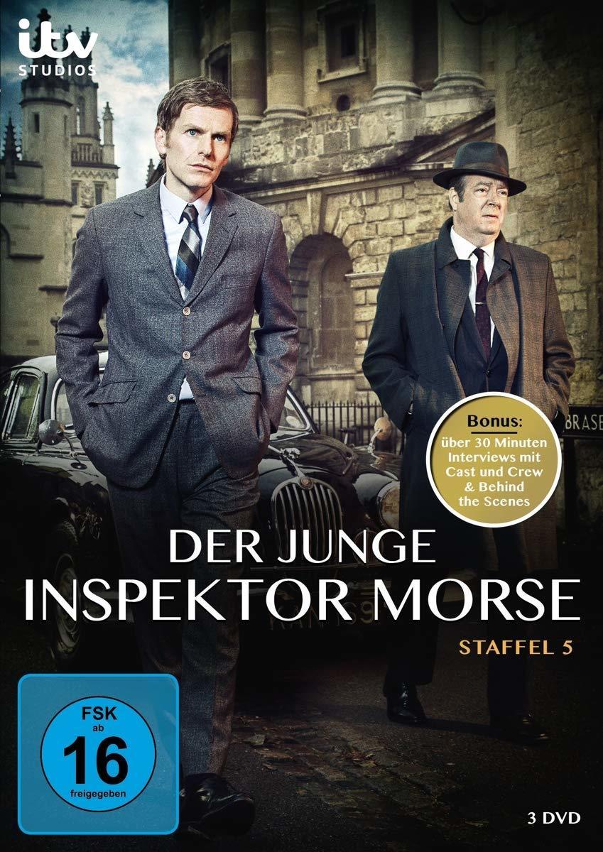 """Das Verbrechen schläft nie: Wir verlosen die 5. Staffel der Krimi-Serie """"Der Junge Inspektor Morse"""" auf DVD"""