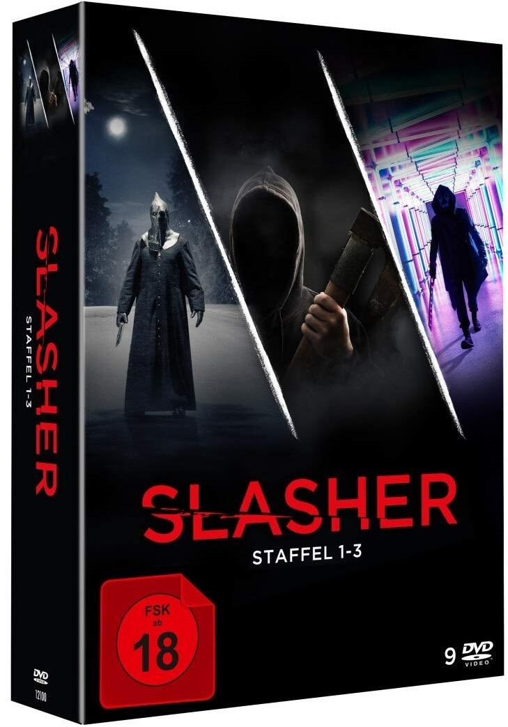 """Es wird blutig: Wir verlosen die """"Slasher"""" DVD Box mit Staffel 1-3"""