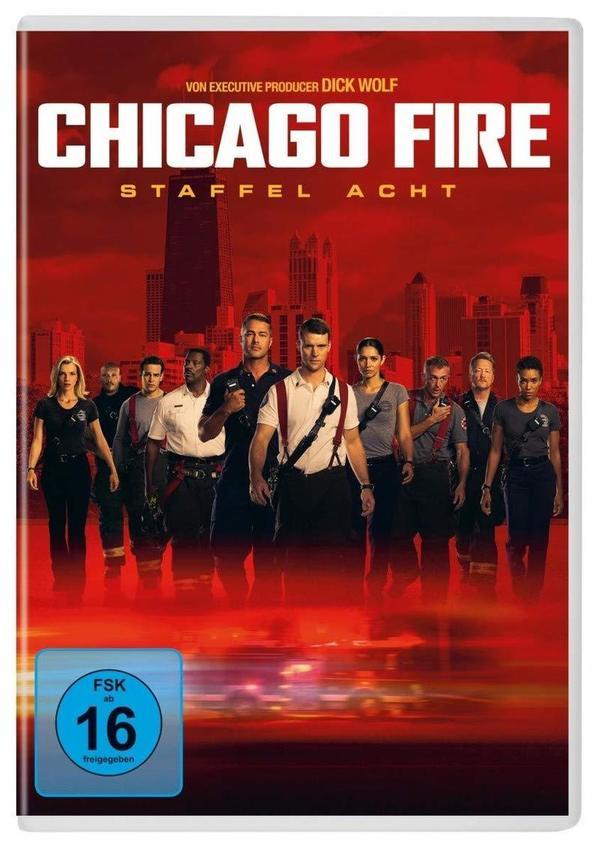 """Das Chicago Firehouse Departments 51: Wir verlosen die 8. Staffel von """"Chicago Fire"""" auf DVD"""