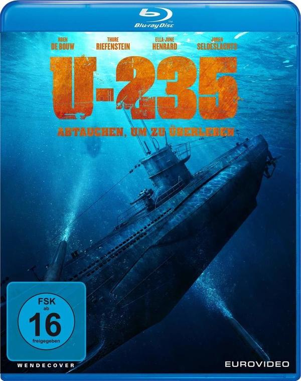 """Abtauchen, um zu überleben: Wir verlosen den U-Boot-Actioner """"U-235"""" auf BD"""