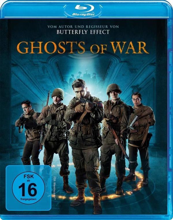"""Übernatürlicher Terror trifft auf den Schrecken des Krieges: Wir verlosen den Horrorfilm """"Ghosts of War"""" auf BD"""