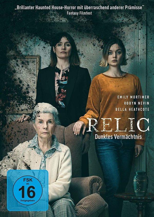 """Die Fäulnis greift um sich: Wir verlosen die Horror-Überraschung """"Relic – Dunkles Vermächtnis"""" auf DVD oder BD"""