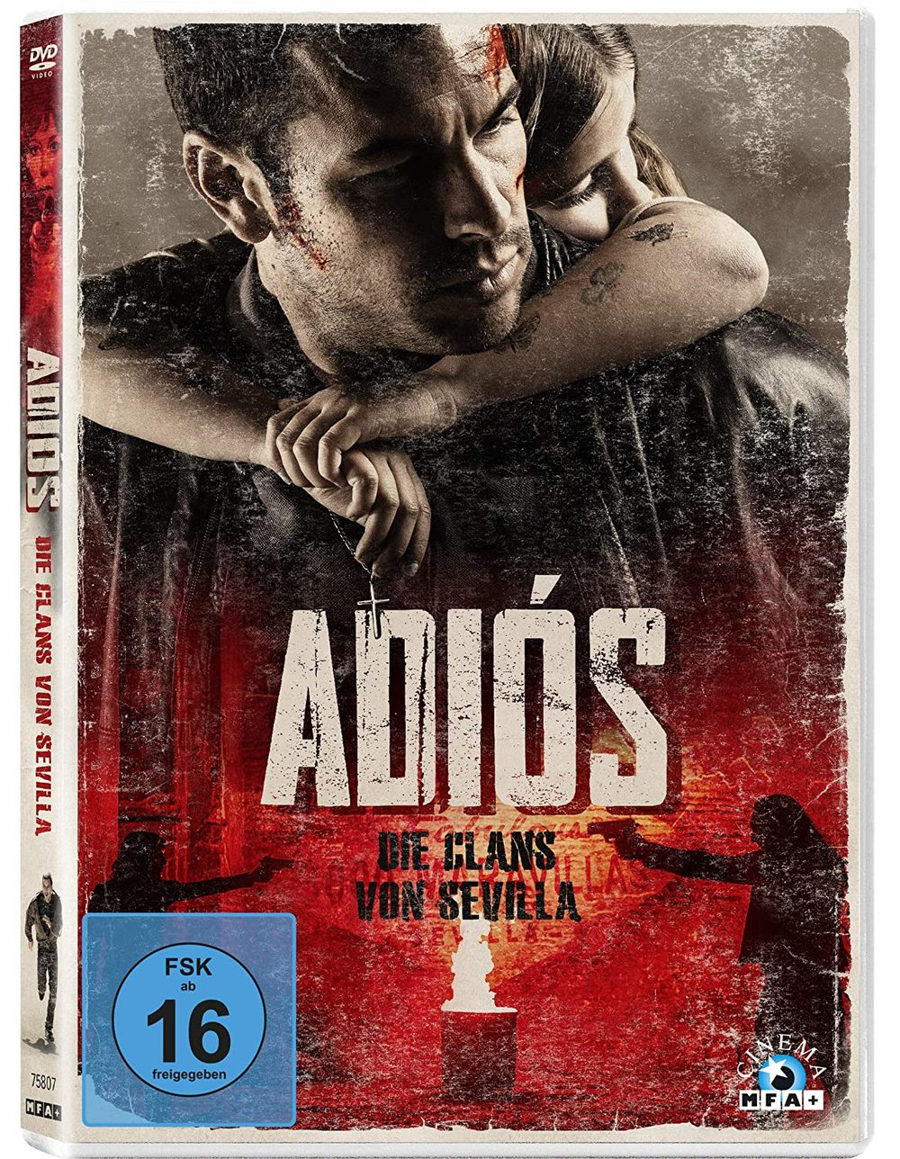 """Wir verlosen den Neo-Noir-Thriller """"Adiós - Die Clans von Sevilla"""" auf DVD"""