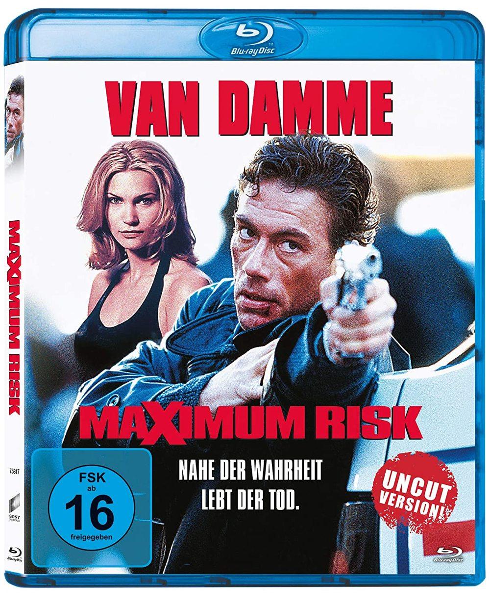 """Van Damme, ungekürzt: Wir verlosen """"Maximum Risk"""" auf BD"""