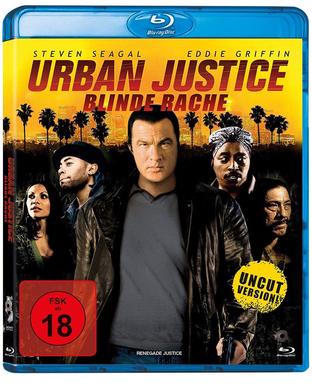 """"""" Urban Justice - Blinde Rache"""" mit Steven Seagal gibts endlich ungekürzt und wir verlosen den Film auf BD"""