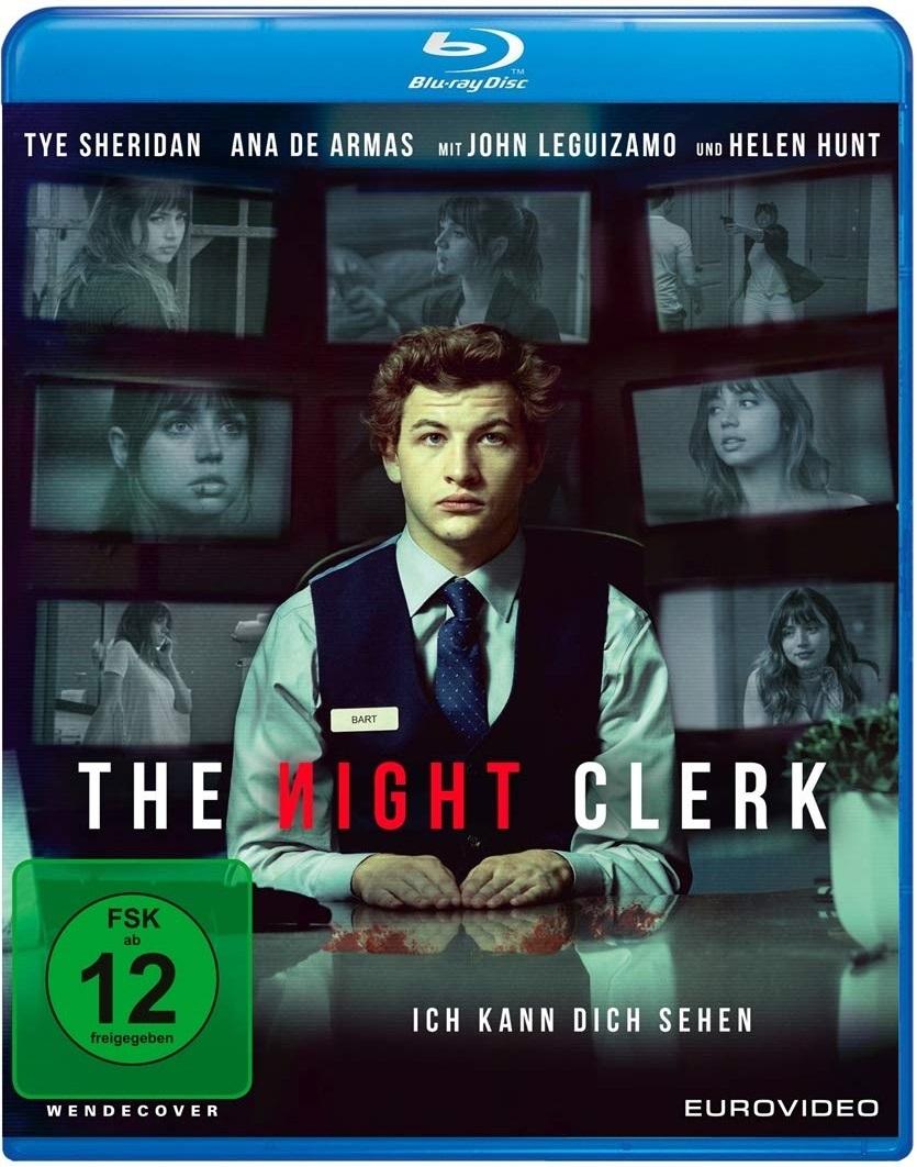 """Wir verlosen den Paranoia-Thriller """"The Night Clerk"""" mit Tye Sheridan auf BD"""