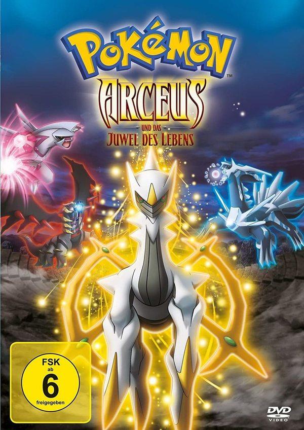 """Eine entfesselte Legende: Wir verlosen """"Pokémon - Arceus und das Juwel des Lebens"""" auf DVD oder BD"""