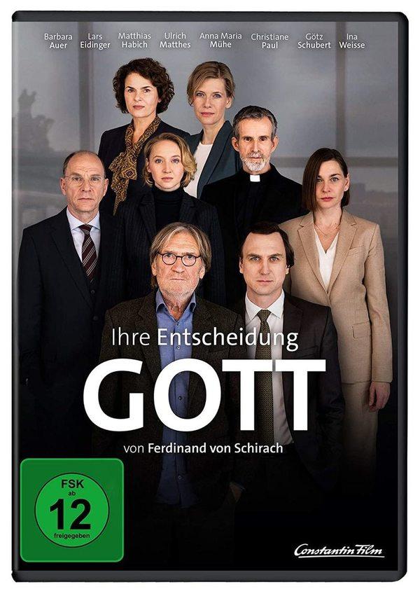 """TV-Ereignis fürs Heimkino: Wir verlosen """"Gott - Von Ferdinand von Schirach"""" auf DVD"""