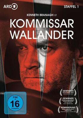 """Kenneth Branagh ist Kurt Wallander: Wir verlosen die 1. Staffel der Krimi-Serie """"Kommissar Wallander"""" auf DVD"""