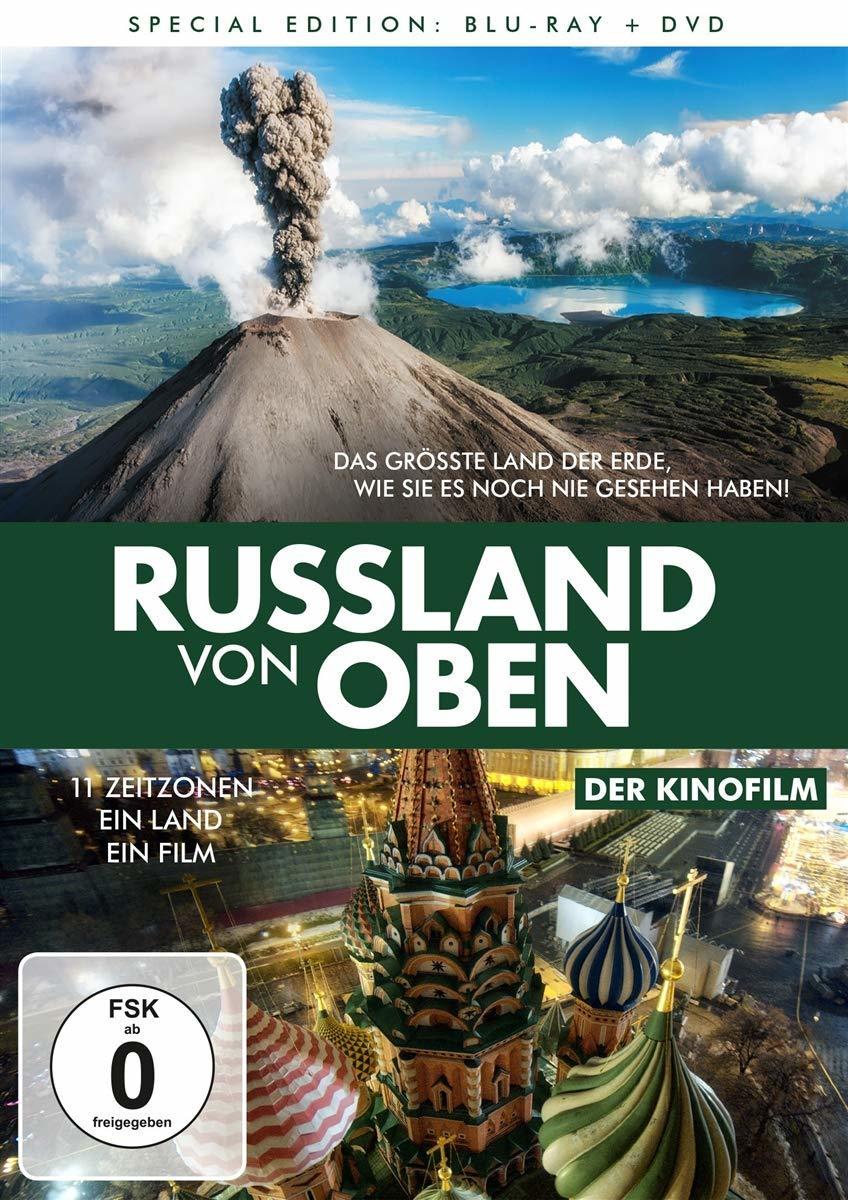 """11 Zeitzonen, ein Land, ein Film: Wir verlosen die beeindruckende Dokumentation """"Russland von oben - Der Kinofilm"""""""