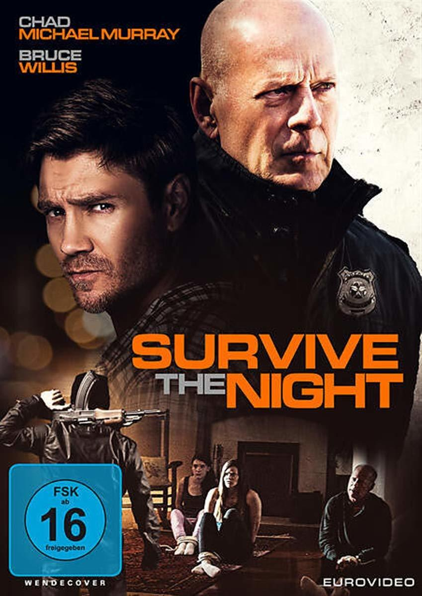 "Bruce Willis in Action: Wir verlosen den Action-Thriller ""Survive the Night"" auf DVD"