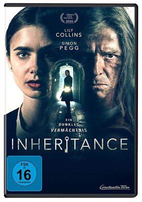 """Wir verlosen """"Inheritance - Ein dunkles Vermächtnis"""" mit Lily Collins und Simon Pegg auf DVD"""