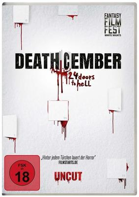 """Ho-Ho-Horrorfilm: Wir verlosen """"Deathcember - 24 Doors to Hell"""" auf DVD und BD"""