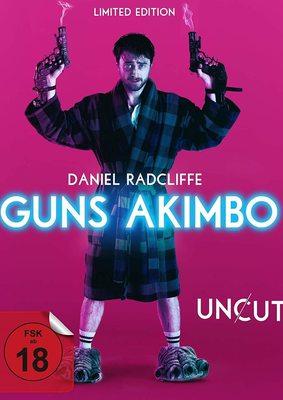 """Unterhaltsam und Uncut: Wir verlosen """"Guns Akimbo"""" als Limited 2-Disc Mediabook"""