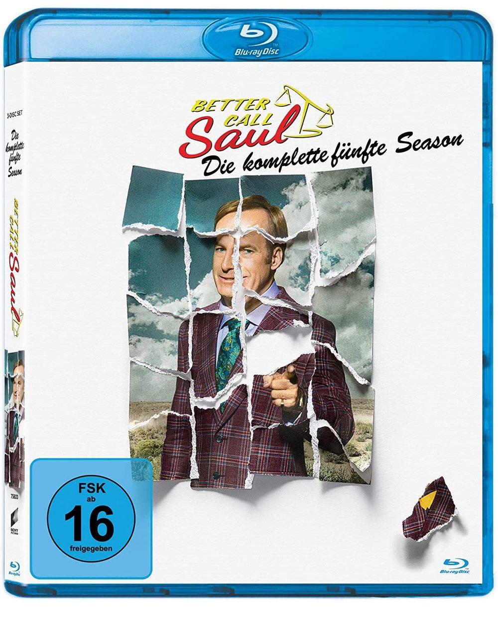 """Selbst die blinde Justizia würde versuchen bei uns Staffel 5 von """"Better Call Saul"""" auf BD zu gewinnen"""