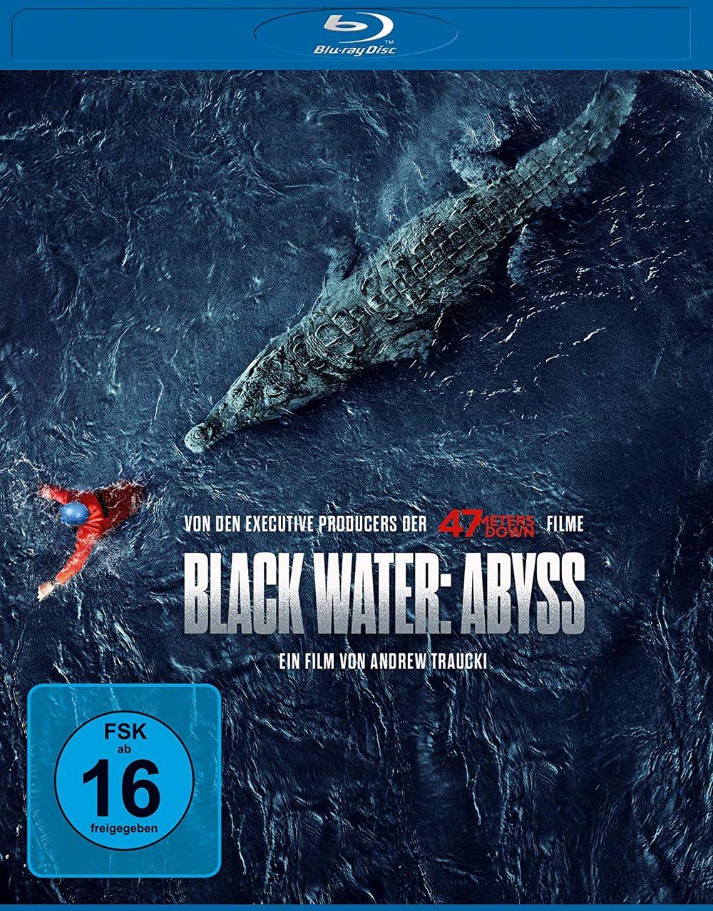 """Nix mit Schni-Schna-Schnappi: Wir verlosen den Kroko-Horror """"Black Water: Abyss"""" auf BD"""