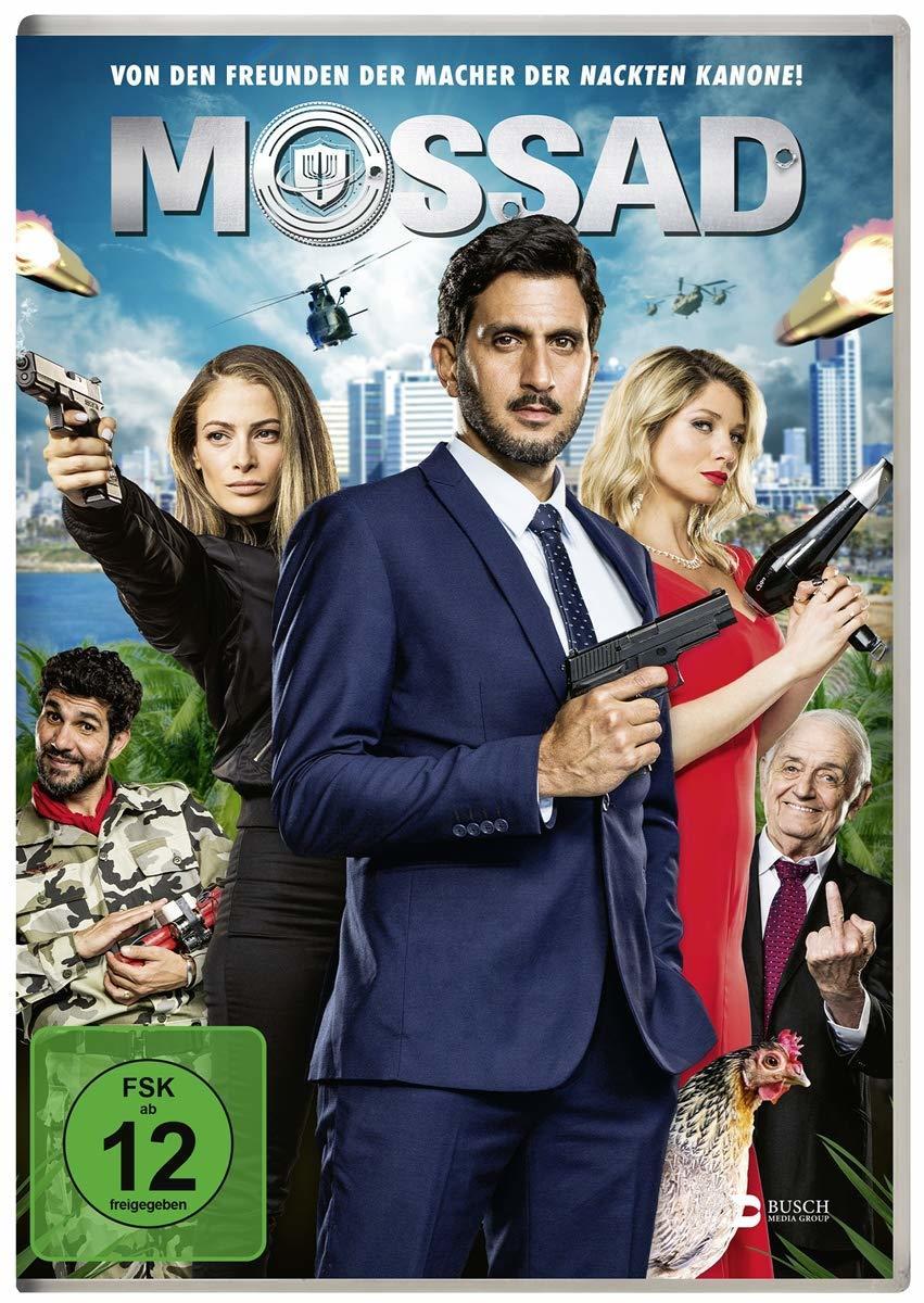 """Für Freunde von """"Die Nackte Kanone"""": Wir verlosen """"Mossad"""" auf DVD und BD"""
