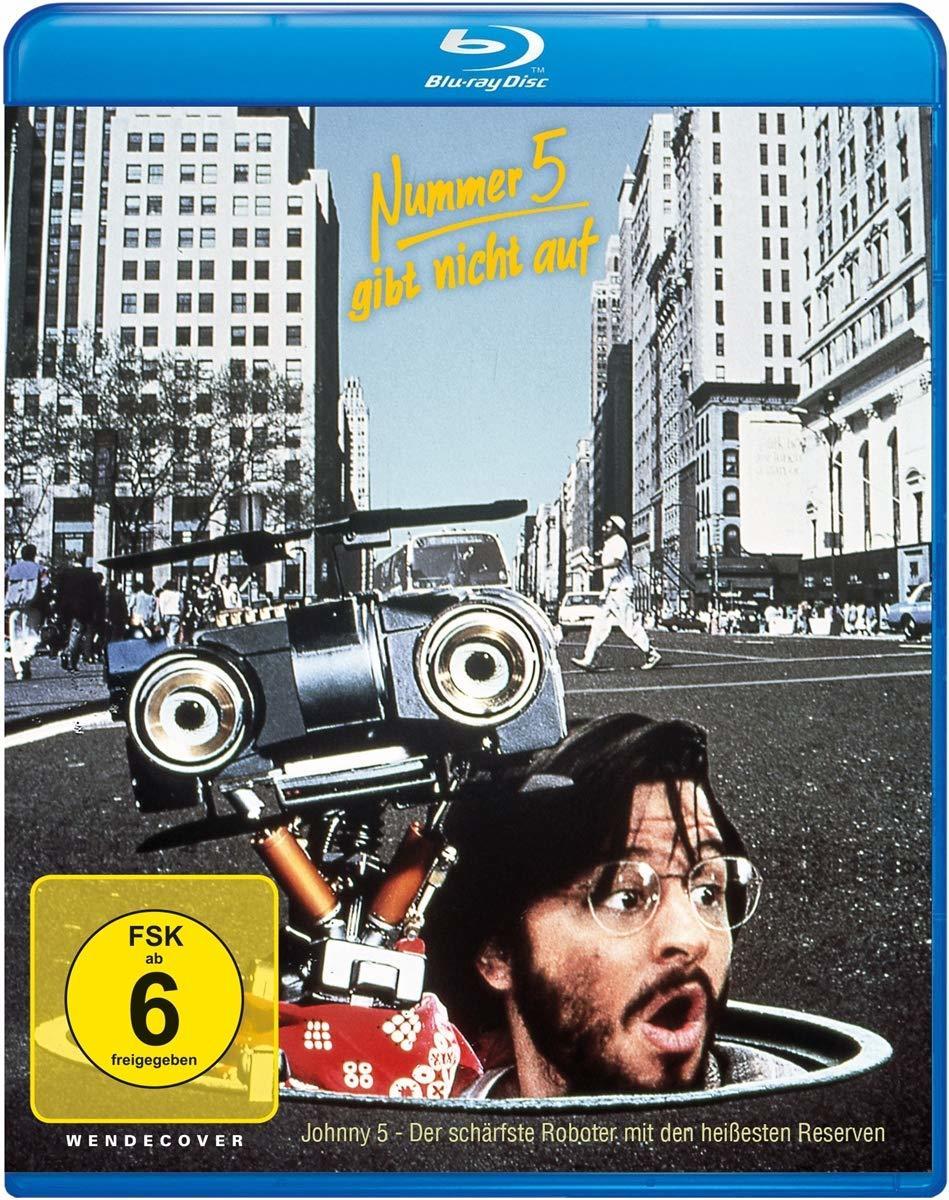 """Ein Roboter in der großen Stadt: Wir verlosen """"Nummer 5 gibt nicht auf"""" auf BD"""