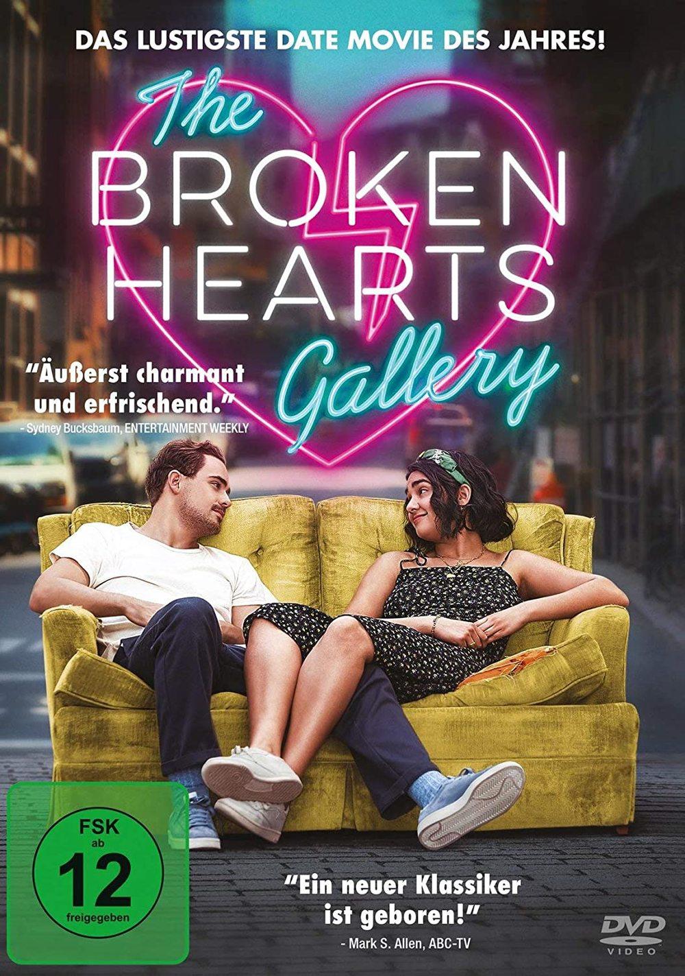 """RomCom mit Herz: Wir verlosen """"The Broken Hearts Gallery"""" auf DVD"""