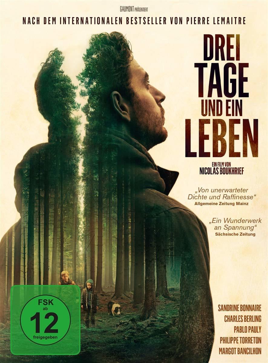 """Nach dem Bestseller von Pierre Lemaitre: Wir verlosen den Thriller """"Drei Tage und ein Leben"""" auf DVD oder BD"""