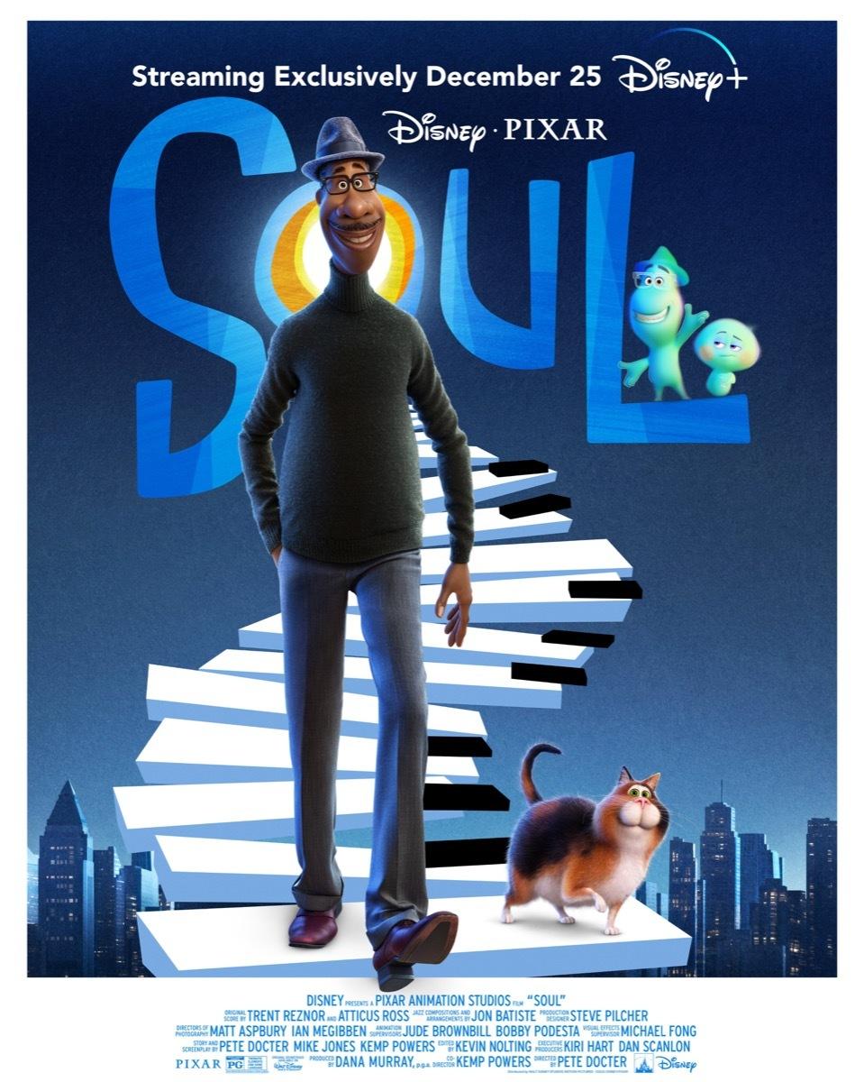 """Ab dem 25.12. auf Disney+: Wir verlosen den Soundtrack von """"Soul"""" auf CD"""