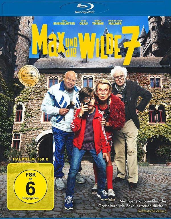 """Ein Abenteuer für die ganze Familie: Wir verlosen """"Max und die Wilde 7"""" auf BD"""