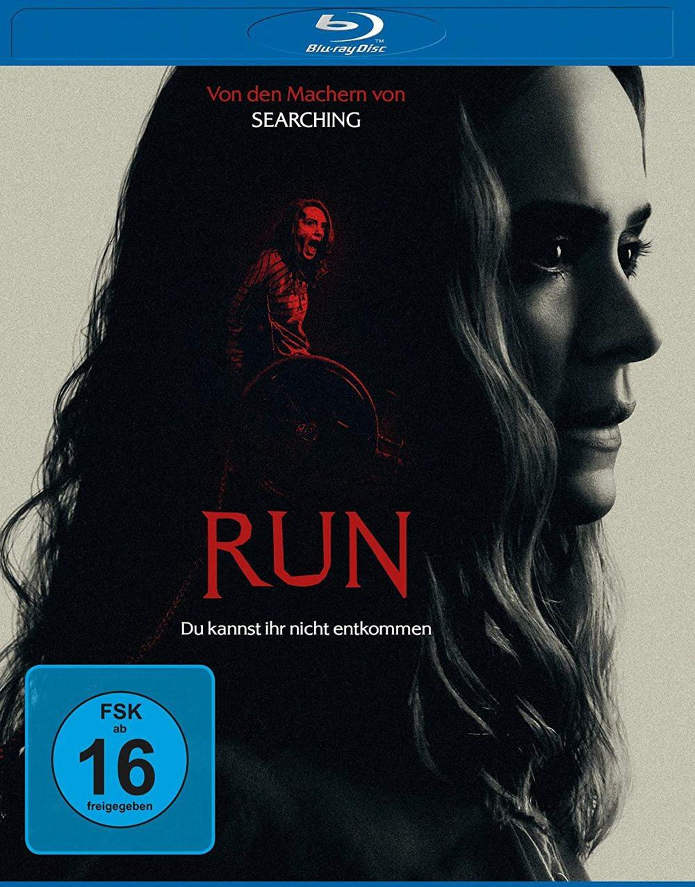 """Du kannst ihr nicht entkommen: Wir verlosen den Horror-Thriller """"Run"""" auf BD"""