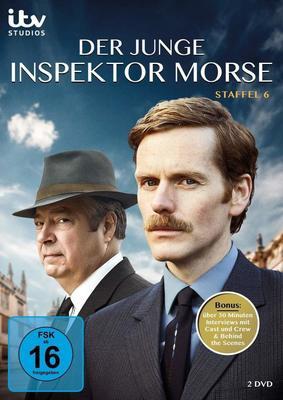 """Nichts ist so wie es war: Wir verlosen die sechste Staffel der beliebten Krimi-Serie """"Der junge Inspektor Morse"""" auf DVD"""