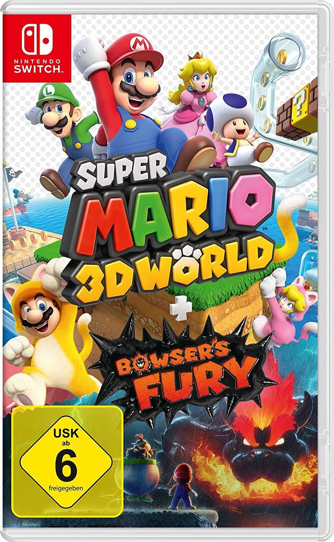 """Mario is back: Wir verlosen das Videospiel """"Super Mario 3D World + Bowser's Fury"""" für Nintendo Switch!"""