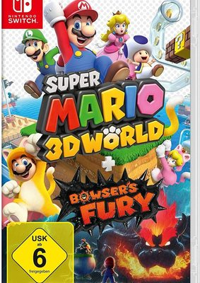 "Mario is back: Wir verlosen das Videospiel ""Super Mario 3D World + Bowser's Fury"" für Nintendo Switch!"
