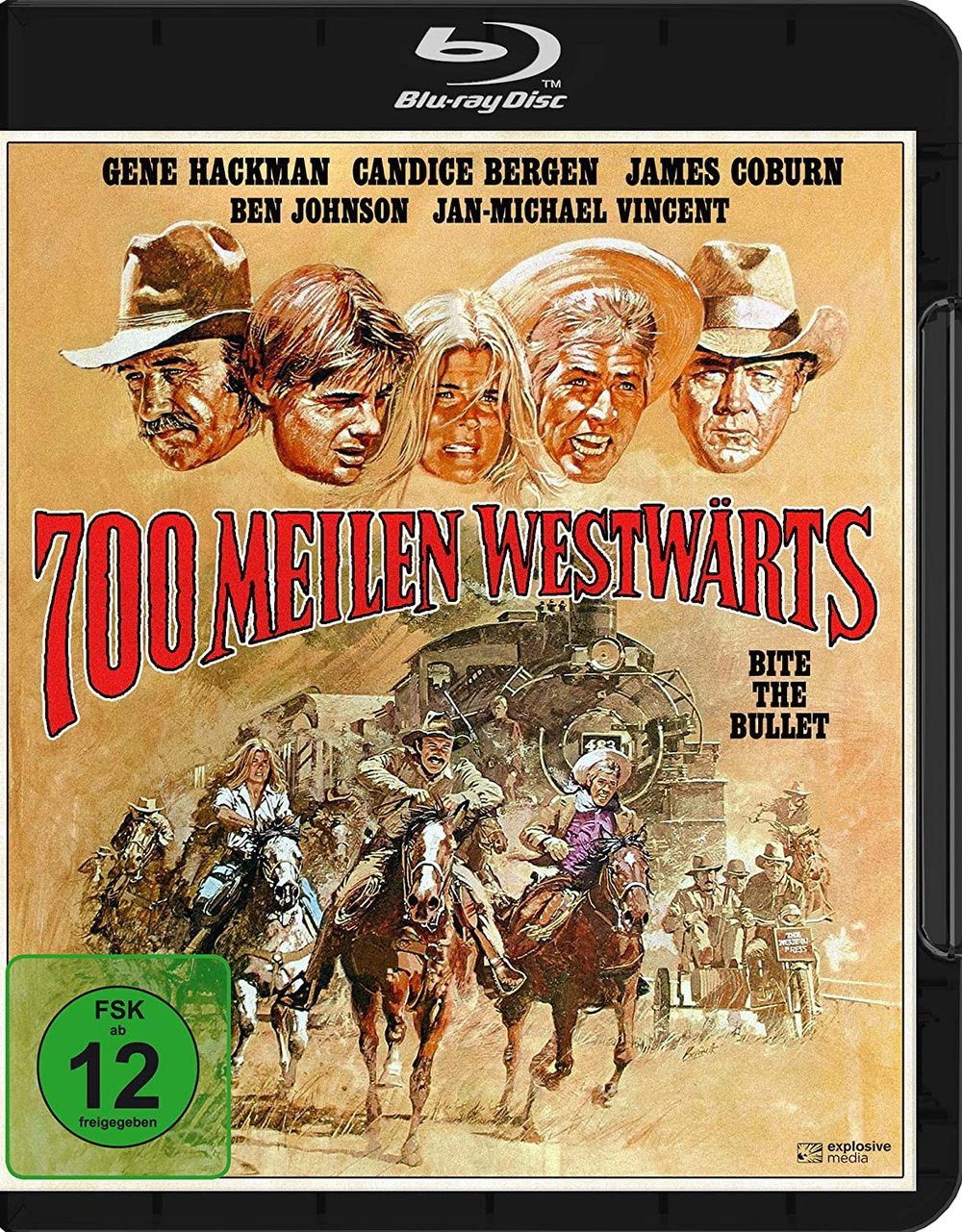 """Ein gefährliches Pferderennen: Wir verlosen den Western-Klassiker """"700 Meilen westwärts"""" auf BD"""